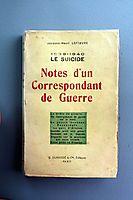 NOTES-CORRESPONDANT--GUERRE