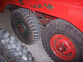 6X6 une roue restauree Juin 2007