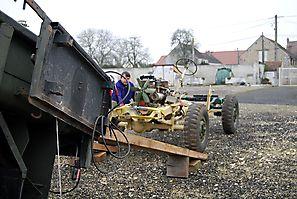 Transport de la carcasse 19 février