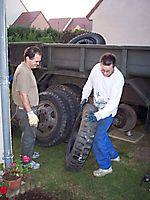 Changement du train de pneus