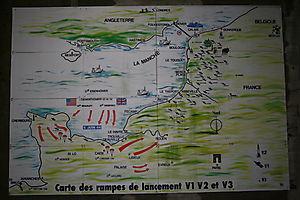 CARTE SITES DE LANCEMENT V1 et V2